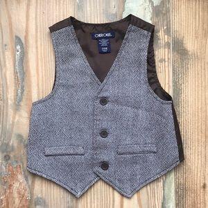 Toddler dress vest